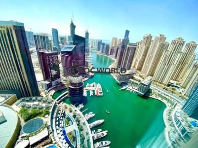 فلیٹ 2 غرفة نوم للايجار في دبي مارينا، دبي - 360 Stunning Marina View | Marina Mall | Flexible Cheques