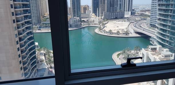 شقة 2 غرفة نوم للايجار في دبي مارينا، دبي - Near Metro | Appliances | Chiller Free | Full Marina View