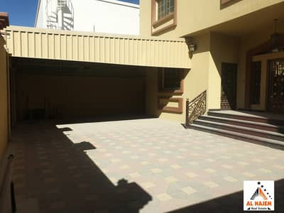 5 Bedroom Villa for Sale in Al Mowaihat, Ajman - You own your villa without down payment The sale is a very luxurious villa and a modern and luxurious design of the owners of the luxury and in the Al Mowaihat 1 area in Ajman with the possibility of bank financing, cash or housing
