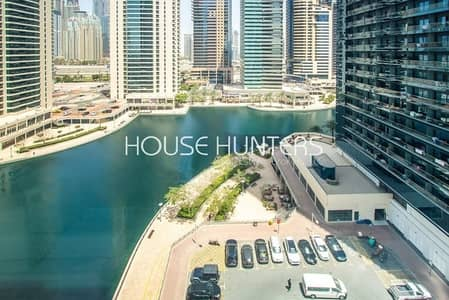 1 Bedroom Flat for Rent in Jumeirah Lake Towers (JLT), Dubai - Lake view | Bright and Spacious | 1 Bedroom