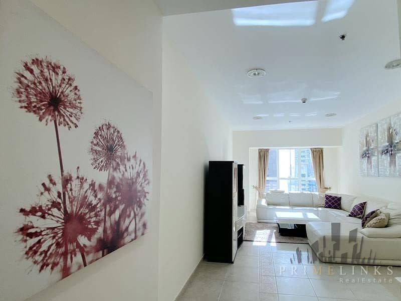 Furnished 2 Bedrooms Balcony Partial Sea View