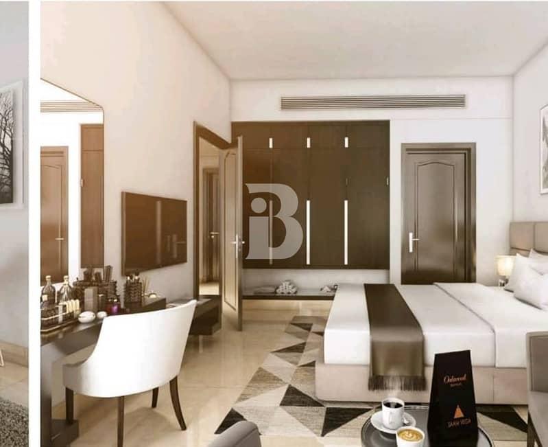 1BED HOTEL APARTMENT l 8% GUARANTEED ROI