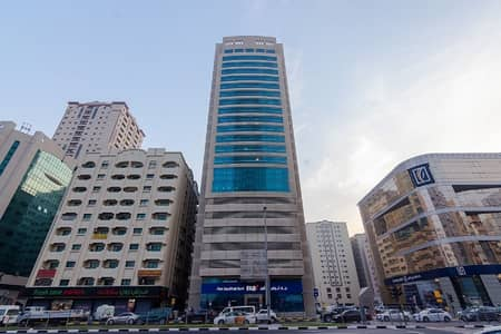 Office for Rent in Al Qasimia, Sharjah - 1-Month Free | Chiller Free Open Lay-out Office for Lease