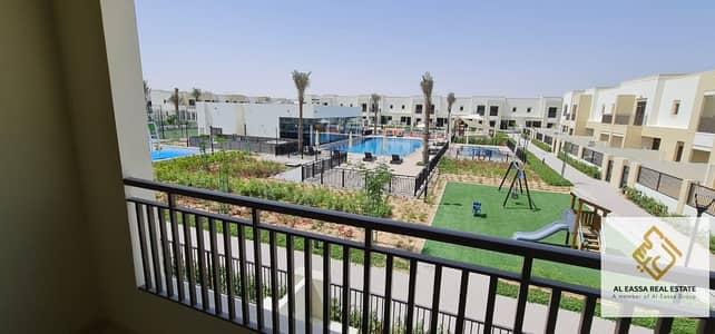 3 Bedroom Townhouse for Rent in Town Square, Dubai - Brand New|Pool View |Single Row