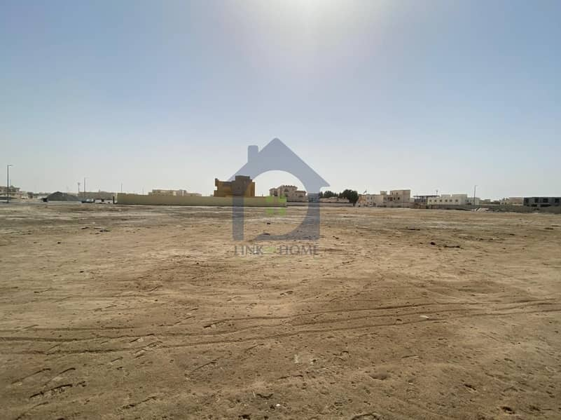 2 Amazing Corner Land in Shakhbout City For Sale