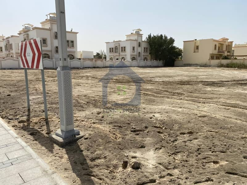 11 Amazing Corner Land in Shakhbout City For Sale