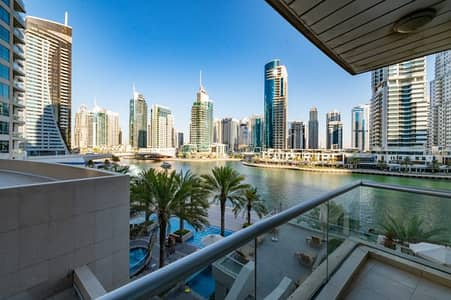1 Bedroom Apartment for Sale in Dubai Marina, Dubai - Unfurnished 1 bed | Full Marina View | Ready to move in