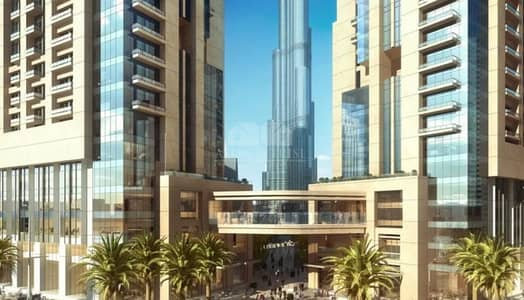 شقة 2 غرفة نوم للبيع في وسط مدينة دبي، دبي - 5 years post handover payment plan no charges for 3 yrs