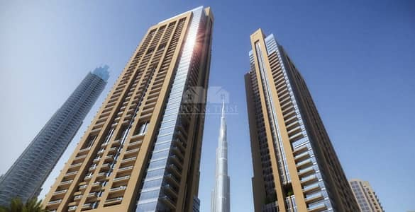 2 Bedroom Apartment for Sale in Downtown Dubai, Dubai - 5 years post handover payment plan no charges for 3 yrs