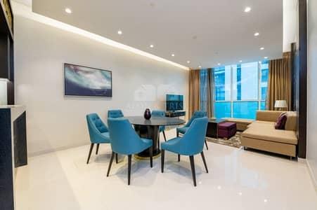فلیٹ 3 غرف نوم للبيع في وسط مدينة دبي، دبي - Vacant furnished 3 Bed Upper Crest