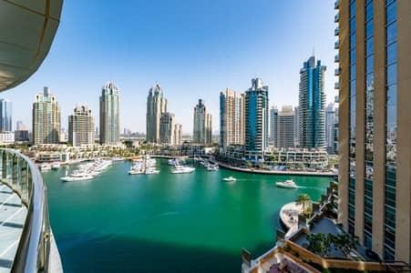 شقة 2 غرفة نوم للبيع في دبي مارينا، دبي - 2BR + study | Marina View I Marina Terrace