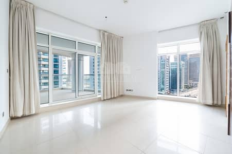 شقة 2 غرفة نوم للايجار في دبي مارينا، دبي - Full Marina View   Large Balcony   2 BR + Maid's Room