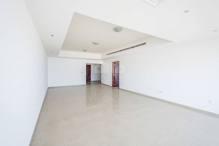 2 Full Sea and Palm view I Unfurnished 3 Bedrooms+m ( 4000 Sqft)
