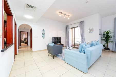 2 Bedroom Apartment for Rent in Jumeirah Beach Residence (JBR), Dubai - Fully-Furnished 2Bedrooms with Marina View at JBR