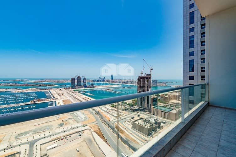 20 Full Sea and Palm view I Unfurnished 3 Bedrooms+m ( 4000 Sqft)