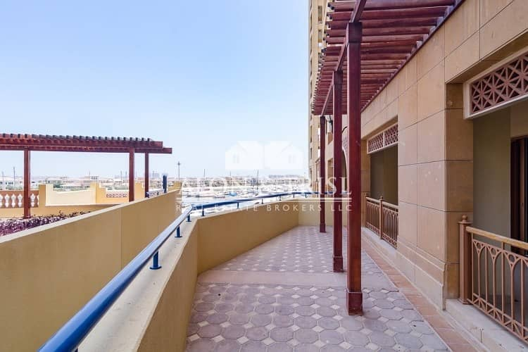 Type C | Large 2 Bedroom with Maid Room | Sea View