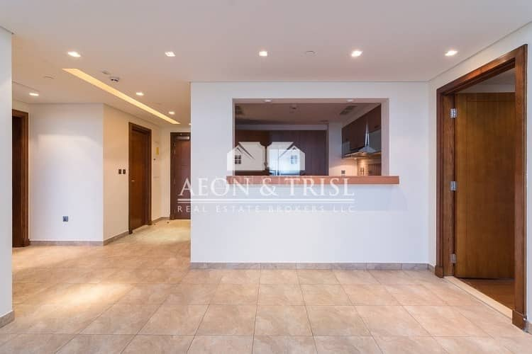 2 Type C | Large 2 Bedroom with Maid Room | Sea View