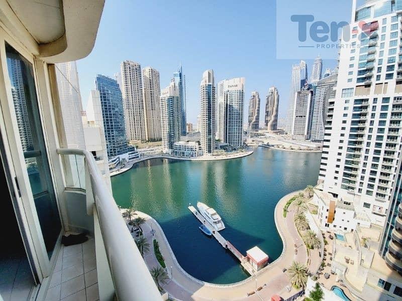 Rented Property| Full Marina view| corner unit