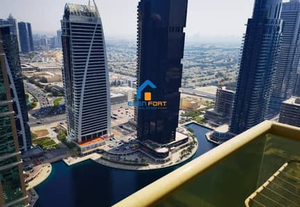 LAKE VIEW HIGH FLOOR UNFURNISHED 1BHK IN JLT