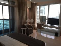 Modern Furnished Studio with balcony including bills | The Vogue