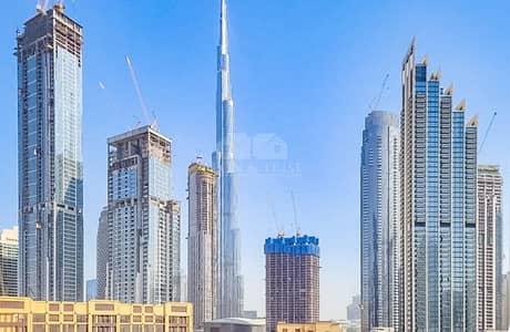 فلیٹ 1 غرفة نوم للايجار في الخليج التجاري، دبي - Semi-furnished Large 1 Bed  with Burj Khalifa View
