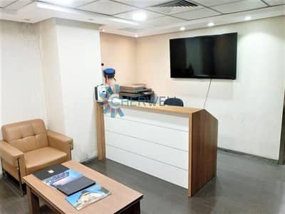 Office for Rent in Al Zahiyah, Abu Dhabi - Fully Furnished  Modern Office | Water and Electricity Included