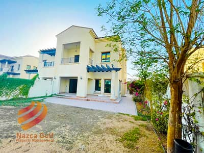 3 Bedroom Villa for Rent in Al Salam Street, Abu Dhabi - Sophisticated 3 Bed Villa with Big Patio & Maids Room