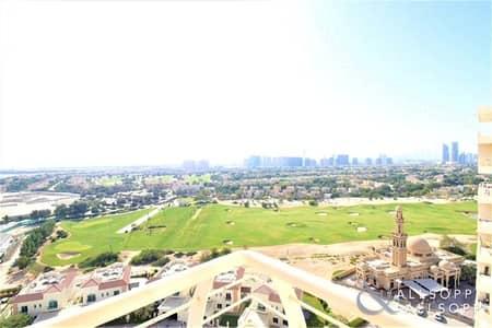 فلیٹ 3 غرف نوم للايجار في مدينة دبي الرياضية، دبي - Largest 3Bed | Duplex | Stunning Golf View