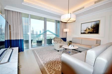 فلیٹ 1 غرفة نوم للايجار في وسط مدينة دبي، دبي - Bright & Spacious | Best lay out | Furnished