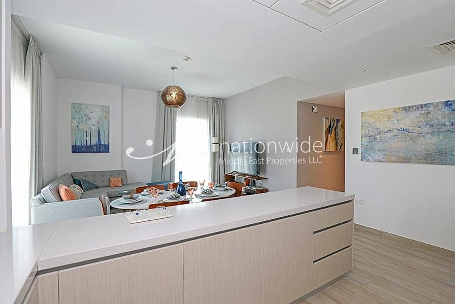 2 Own This Astonishing Brand New Unit w/ Canal View