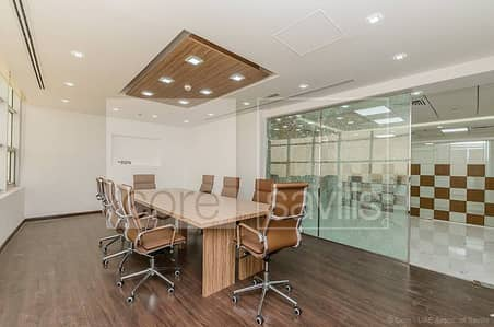 Fitted office for rent | Mazaya AA1