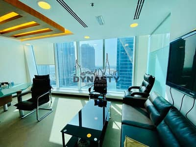 Office for Rent in Business Bay, Dubai - Semi Furnished | Fully Fitted |  3 Parking Spaces