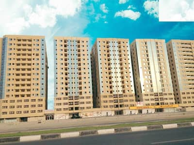 1 Bedroom Apartment for Rent in Garden City, Ajman - CHEAPEST ONE BEDROOM HALL CENTRAL AC IN GARDEN CITY TOWER AJMAN JUST 14,000/