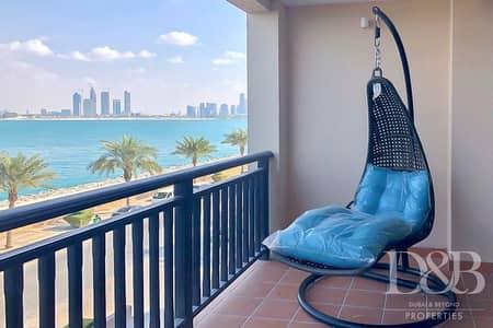 1 Bedroom Apartment for Sale in Palm Jumeirah, Dubai - View of Burj Al Arab | Furnished | Beach