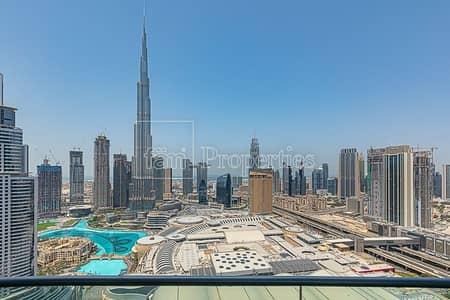 شقة 2 غرفة نوم للبيع في وسط مدينة دبي، دبي - EXCLUSIVE   High Floor   04 Series   REAL Listing