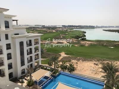 شقة 2 غرفة نوم للايجار في جزيرة ياس، أبوظبي - Amazing Golf View I 2 Balconies I High Floor