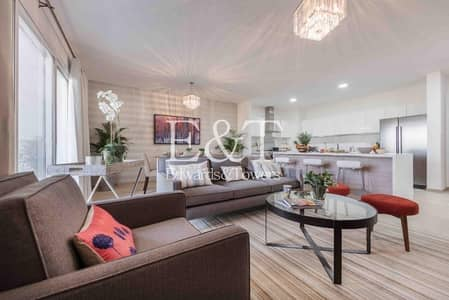 شقة 1 غرفة نوم للبيع في عقارات جميرا للجولف، دبي - Spacious 1BR | Balcony | Unfurnished | JGE