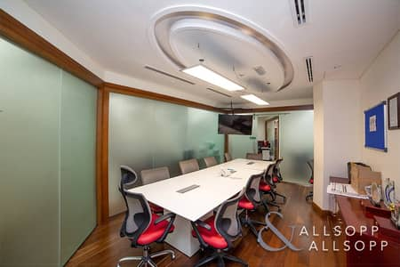 Office for Rent in Business Bay, Dubai - Fully Furnished | Partitioned | Near Metro