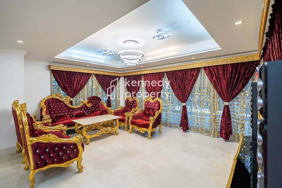 Fully Furnished I Podium Villa I Huge Terrace