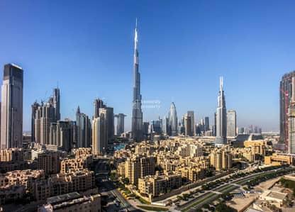 Full Burj Khalifa View I Large Layout I High Floor