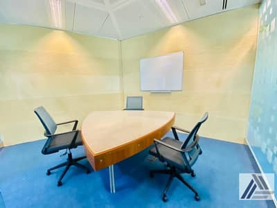 Office for Rent in Bur Dubai, Dubai - Deal of the week| Serviced and Furnished Sharing Office Good For 2 persons