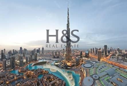 3 Bedroom Flat for Sale in Downtown Dubai, Dubai - 3Bed + M | Burj & Fountain View | Closed Kitchen