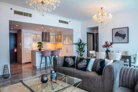 فلیٹ 2 غرفة نوم للبيع في دبي مارينا، دبي - Fully Upgraded 2BR Brand New Luxury Furniture