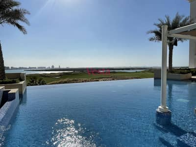 3 Bedroom Flat for Rent in Yas Island, Abu Dhabi - Most stunning golf course views in this lovely 3BR  apartment