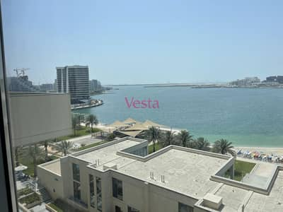 شقة 4 غرف نوم للايجار في شاطئ الراحة، أبوظبي - Sea view