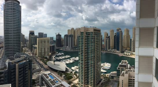 2 Bedroom Flat for Rent in Dubai Marina, Dubai - Luxury apartment close to Metro chiller free