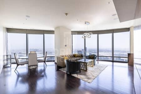 شقة 2 غرفة نوم للبيع في وسط مدينة دبي، دبي - Full Fountain View Unit with Maid's Room