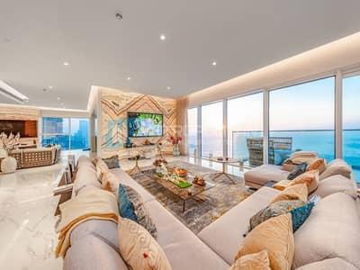 5 Bedroom Penthouse for Sale in Jumeirah Beach Residence (JBR), Dubai - Genuine Listing | Full Floor PH | Panoramic Views