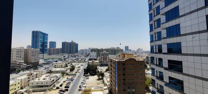2 Bedroom Apartment for Rent in Ajman Downtown, Ajman - BALCONY VIEW