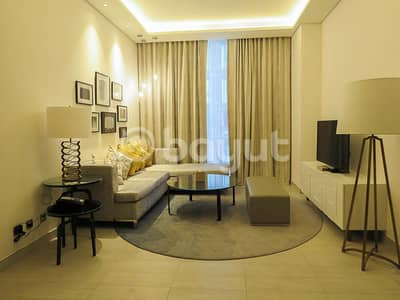 2 Bedroom Hotel Apartment for Rent in Al Garhoud, Dubai - New & spacious two bedroom apartment (near GGICO metro & Dubai Airport)   Free WiFi    Covered Parking